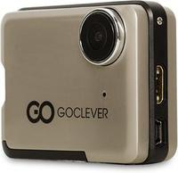 "Action Camera + Car DVR GOCLEVER EXTREME GOLD Full HD 2.0"" LCD w/Waterproof case"