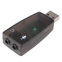 USB to Audio Adapter 5.1 w/Mic Jack 3D Sound