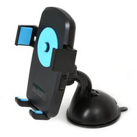 Car & Bike Holder for Smartphones Omega Kiwi Black/Blue