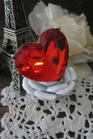 Прстен во форма на срце