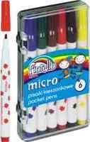 MICRO џебни фломастери Fiorello GR-F863 - 6 бои