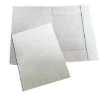 Папка А4 картонска бела
