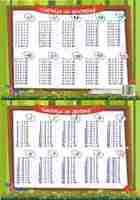 Таблица за множење и делење