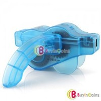 Cycling Bike Bicycle 3D Chain Cleaner Machine Brushes Scrubber Quick Clean Tool