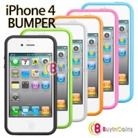 Silicone Bumper Frame Case Cover for iPhone Silicone Bumper Frame Case Cover for iPhone 4 4G 4S 4GS/4TH/4TH