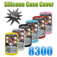 1 x Silicone Skin Case for Blackberry 8300 8310 8320 8330