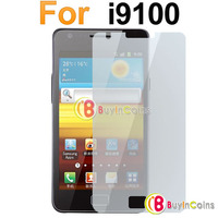 Clear LCD Screen Guard Film Protect Protector for Samsung i9100