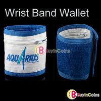 Wristband Wrist Band Wallet Purse Pocket Sports Running