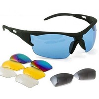 Bicycle Bike Sport Cycling Safety Glasses Goggle 5 Lens 1