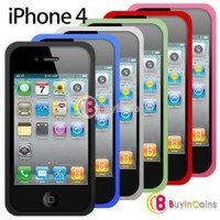Silicone Case Skin Cover for Apple iPhone 4 4G 4S 4GS/4th iOS4