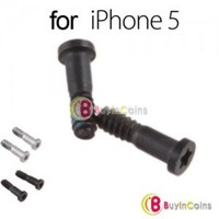 2 X Torx 5 Point Star Pentacle Dock Bottom Connector Screw for iPhone 5 5th Five