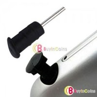 2 x Silicone Headphone Cover Dust Cap for iPhone 3G 3Gs