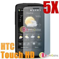 5X LCD Screen Protector Guard Film for HTC Touch HD T8282