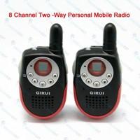 Mini 8 Channels Two Way Mobile Radio Walkie Talkie 3