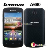 """4"""" Lenovo A690 MT6575 1GHz Android 2.3 Smartphone GSM WCDMA WIFI 3G Mobile Phone"""