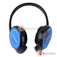 New S4 Wireless Headphone Stereo Sport Mp3 Player Support TF Card with FM Radio 2