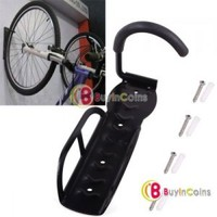 New Cycling Bicycle Bike Storage Wall Mounted Rack Stands Hanger Hook + Screws