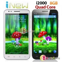 """5.7"""" iNew i2000 Quad Core 1.2GHz Smartphone Android 4.1 4GB WIFI 3G Mobile Phone"""