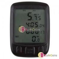 Multifunction Digital LCD Bicycle Bike Cycling Computer Odometer Speedometer #07
