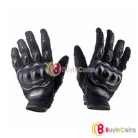 Bicycle Bike Motorcycle Riding Protective Gloves Black