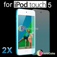 2X Clear LCD Screen Stickers Protector Guard Film fr Apple iPod Touch 5 5th Five