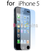Clear LCD Screen Sticker Protector Film Guard for Apple iPhone 5 5th Gen 5G Five
