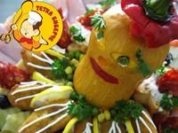 Пилешки прсти - кетеринг Тетка Биберче