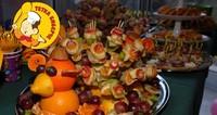 Овошен коктел - кетеринг Тетка Биберче