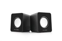 LOGIC 2.0 Speakers LS-09, Color: Black, Output power: 3W x 2, Interface: 3.5 mm audio jack, Power Voltage: USB