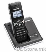 Telefunken TLF 5001 Wireless DECT telephone, Big LCD display, Speakerphone, Talkie walkie function
