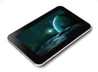 """KTC 700P11A 7"""" Tablet, Android 4.0, Multitouch five points capacitive touchscreen, 800x480 resolution, 8GB, 512MB DDR3, Camera built in front, Built in microphone and 1W speaker, Wifi, USB (Mini USB), Micro SD slot, 3.5mm stereo output, Supports USB"""