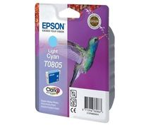 PTC EC-T805, T0805, L.Cyan, (12ml), Ink Cartridge for Epson Stylus Photo R265, R285, R360; RX 560, RX585, RX640, RX685; PX800FW