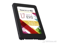 SSD Team Group L7 Evo, 240GB SATA3, Read up to 530MB/s , Write up to 370MB/s