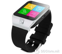 """ST SW-35Y White, Superior Technology, Smartwatch with SIM card, Mobile phone function GSM 850/900/1800/1900 GPRS/EDGE, 1.54"""" LCD Touch Display 240X240 Resolution, Compatible with IOS/Android, 0.3Mpixels camera, FM Radio, MP3 Player, Voice recorder, I"""