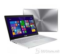 """ASUS UX501JW-FJ516T (TOUCH, QFHD, Windows 10 64bit), Intel Core i7-4750HQ Processor 2 GHz (6M Cache, up to 3.20 GHz), 8GB DDR3 (4GB on-board), SATA 1TB 5400RPM 2.5"""" HDD SATA3 256G M.2 SSD, NVIDIA GeForce GTX 960M (N16P-GX) 4GB GDDR5, Aluminum dark-gr"""