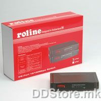 21.14.3156-5 ROLINE RS - 105D, Fast ethernet Swich 5 port