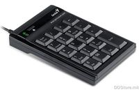 Keypad, USB, additional backspace key, 19 keys