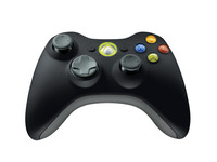 Wireless Controller for XBox360 Black
