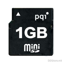 mini Secure Digital - 1GB PQI