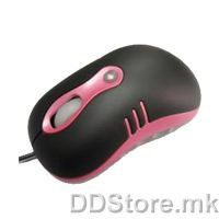 ATG-MX868A Bitrom NB Mouse, Full Black colour, USB port, in small colour box package