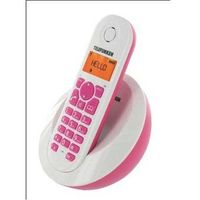 Telefunken DECT Phone PEPS TB 201 Rose, Handsfree/Speakerphone, caller ID, Alarm function, 50 contacts, 300m range