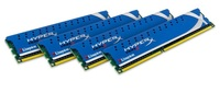 Kingston HyperX Series 16GB 2133MHZ (4x4GB) DDR3 NON-ECC CL11 DIMM (Kit of 4), KHX2133C11D3K4/16GX