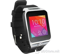 """ST SW-35Y Black, Superior Technology, Smartwatch with SIM card, Mobile phone function GSM 850/900/1800/1900 GPRS/EDGE, 1.54"""" LCD Touch Display 240X240 Resolution, Compatible with IOS/Android, 0.3Mpixels camera, FM Radio, MP3 Player, Voice recorder, I"""