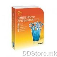Office Home and Business 2010 English PC Attach Key T5D-00835
