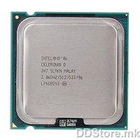 Intel® Celeron® D Processor 347 (512K Cache, 3.06 GHz, 533 MHz FSB)  Tray