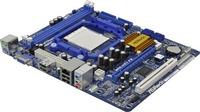 ®N68-VS3, NVIDIA GeForce 7025, Integrated NVIDIA® GeForce 7025 graphics DX9.0 VGA, Pixel Shader 3.0 Max. shared memory 256MB,  Graphic slot 1x PCI Express x16, 1x PCI Express x1, 4x SATA2(1x ATA133 IDE), Audio 6-CH(HD), Lan 10/100, M-ATX