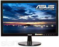 """ASUS 19"""" VS197DE, LED, Max. Resolution: 1366x768, Brightness (Max.): 200cd/m2, Contrast Ratio (Max.): 1000:1 (ASCR50.000.000:1), Viewing Angle (CR>=10): 90°(H)/500°(V), Response time: 5ms, Analog 15-Pin D-Sub, Screen Size: 18,5"""" Wide, Anti-Glare, P"""