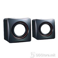 Winstar Speaker 2.0, 2.5W x 2, Black