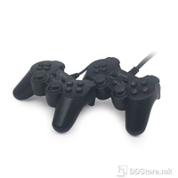 Game Pad Gembird JPDUDV201 Dual Set, USB, Dual Vibration, 2 on 1 USB Port