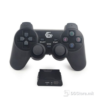 Game Pad Wireless Gembird JPDWDV01 Dual Vibration for PC /PS2/PS3 Rechargable